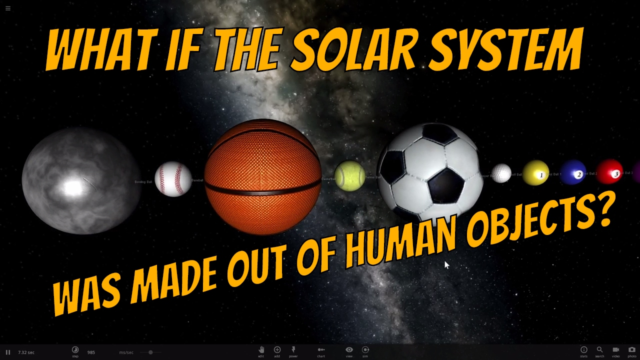 Creating A Solar System Out Of Human Made Objects -5972