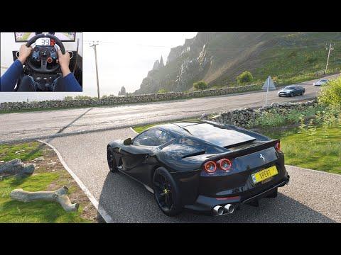 Ferrari 812 Superfast – Forza Horizon 4 | Logitech g29 gameplay