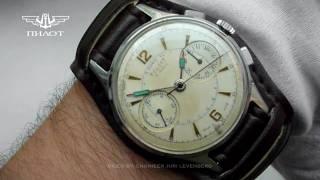 POLJOT · STRELA | Cal. 3017 | Vintage Chronograph | Wrong hands