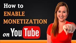 How to Enable Monetization on YouTube thumbnail