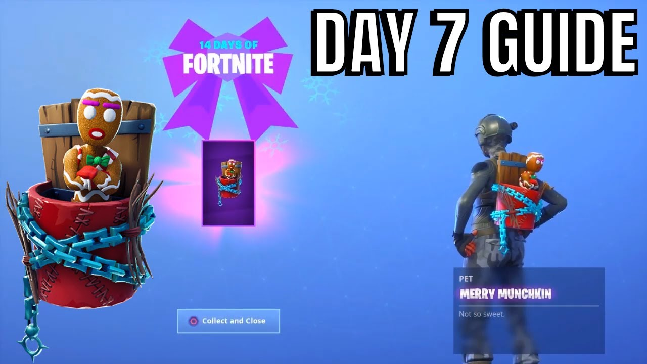 Fortnite 14 Days Of Christmas.Fortnite 14 Days Of Christmas Day 7 Rewards