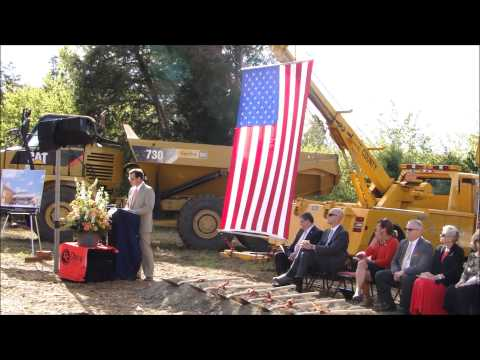 Ground Breaking - New Davie County High School
