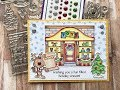 How To Make A Christmas Scene Card | Your Next Stamp | Stamp Create Repeat
