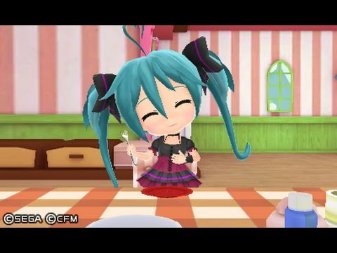 Hatsune Miku: Project Mirai DX - 65 Minute Playthrough [3DS]
