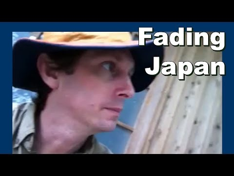 Japan Glass Fishing Floats 日本ガラス釣りフロート - Abandoned Japan 日本の廃墟