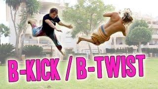 B-Kick / B-Twist | Tutorial | Tricking