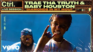 Смотреть клип Trae Tha Truth, Baby Houston - Diamonds In My Mouf