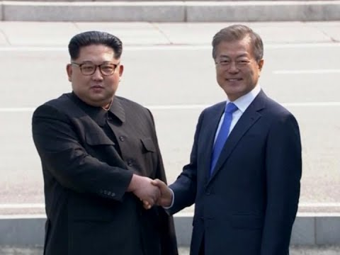 Mga leader ng North at South Korea nagpupulong sa demilitarized zone