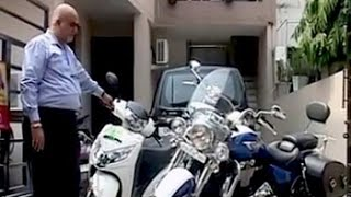 In Chandigarh, man pays 8.1 lakh for a VIP number for Rs. 50,000 scooter