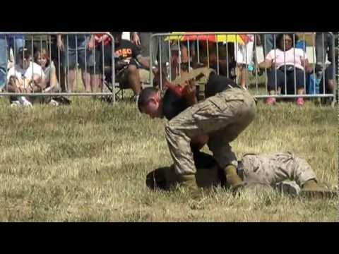 USMC Martial Arts Demonstration YouTube