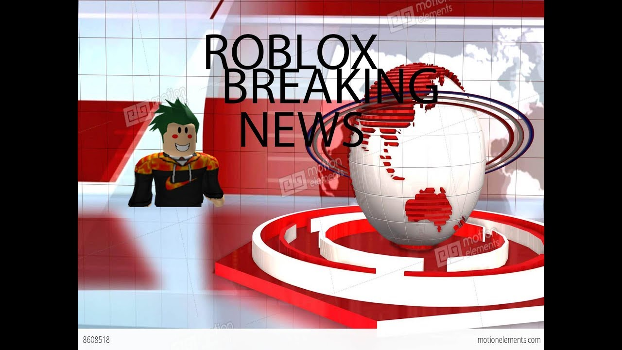 Roblox Breaking News Youtube