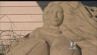 Some Cape Residents Offended By Mermaid Sand Sculpture In Yarmouth