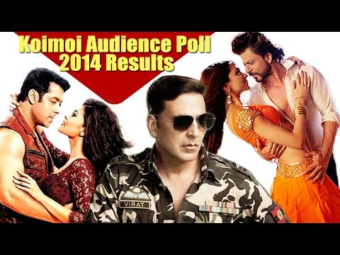 Koimoi Audience Poll : Akshay Kumar Best Actor, Shahrukh-Deepika Best Jodi