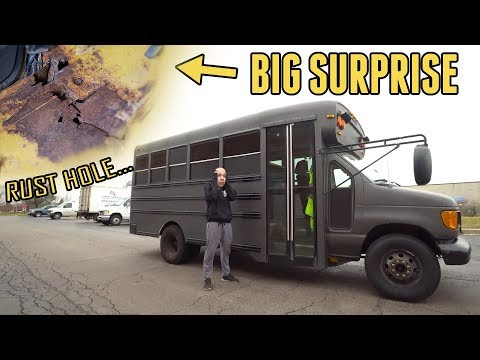 The ADVENTURE BUS Was Hiding A BIG SURPRISE... (Finishing The Seats)