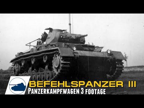 rare-ww2-befehlspanzer-iii---panzerkampfwagen-3-footage.