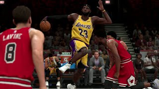 NBA Today 11/5/2019 - Los Angeles Lakers vs Chicago Bulls – NBA 2K20 PS4