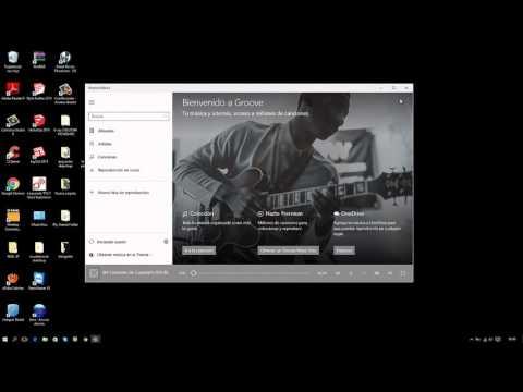 desinstalar groove de windows 10. facil