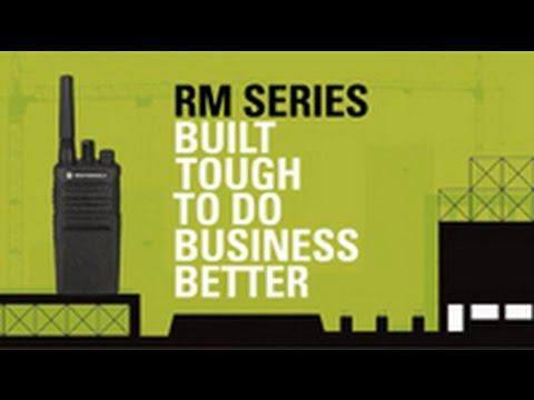 Explore our RM Series On-Site Two-Way Business Radios