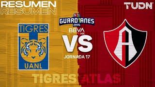 Resumen y goles | Tigres vs Atlas | Guard1anes 2020 Liga BBVA Mx - J17 | TUDN