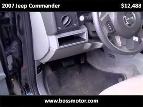 2007 Jeep Commander Used Cars Eden Nc Youtube