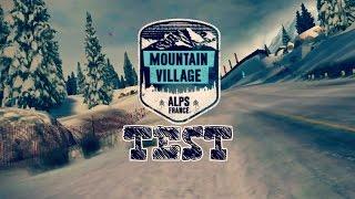 mountain village alps france test