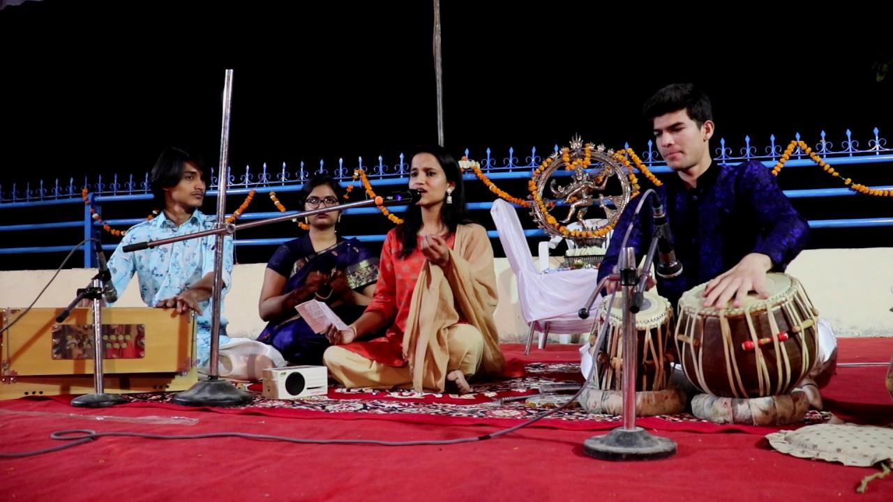 Bhaj man Jeevan Naam Savera by Harija Pandey Live