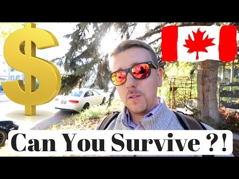 Can You Survive On Minimum Wage In Canada?