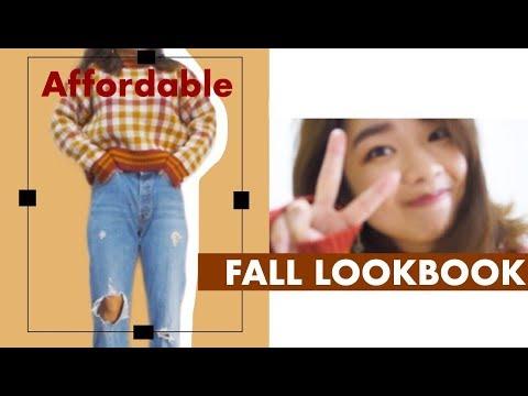 プチプラ秋服コーデ♡ //Affordable Fall Lookbook 2018