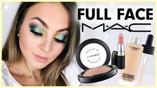 FULL FACE MAC - One Brand Make Up Tutorial deutsch