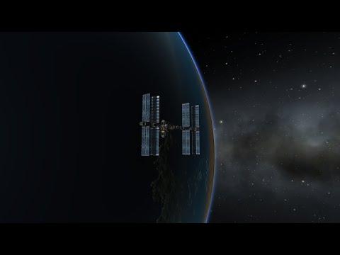 Kerbal Space Program SLS fun