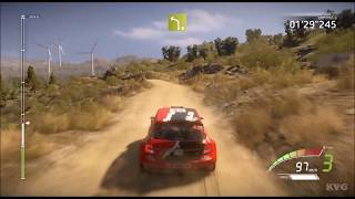 WRC 7 - Rally Italia Sardegna - Gameplay (PC HD) [1080p60FPS]