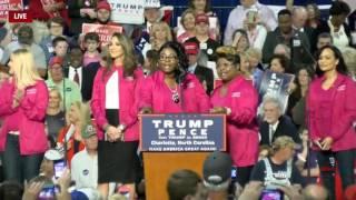 Diamond and Silk Speak at Donald Trump Rally in Charlotte, NC 10/14/16