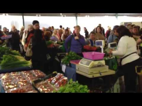 Capital Farmers Market, Canberra, Australia iPhone video