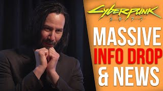 CD Projekt Red Shares Big New Details on Cyberpunk 2077 - Quests, Keanu's Role, DLC, Vehicles