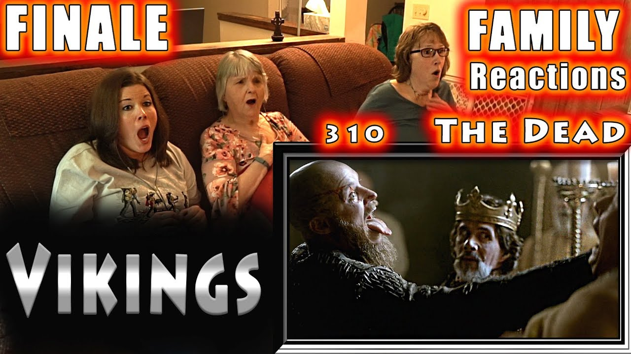 Download VIKINGS   FINALE   310   The Dead   FAMILY Reactions   Fair Use   COPYRIGHT ALTERED