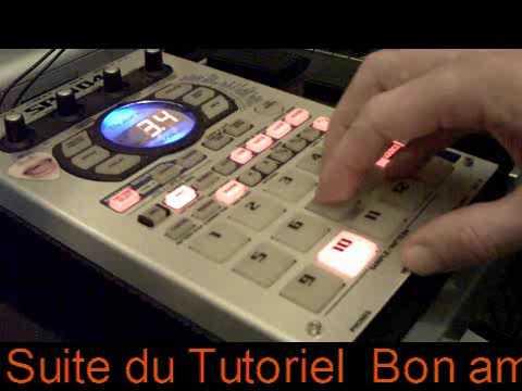 5  Ultimat Tutoriel arrangement et mixage des Samples dans le PATTERN DU SP 404 Roland ( MPC ) Rap