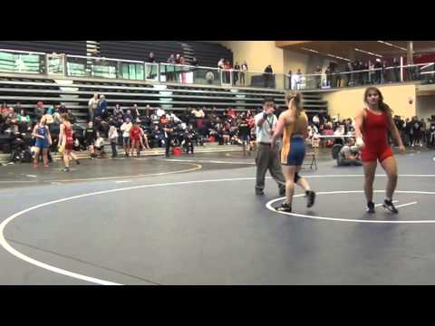 2014 SFU International: 53 kg Aliosha Abdoh vs. Amy Fearnside