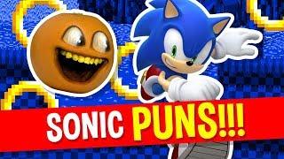 Annoying Orange - Sonic the Hedgehog Puns!