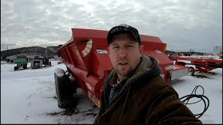 Checking Out Manure Spreaders
