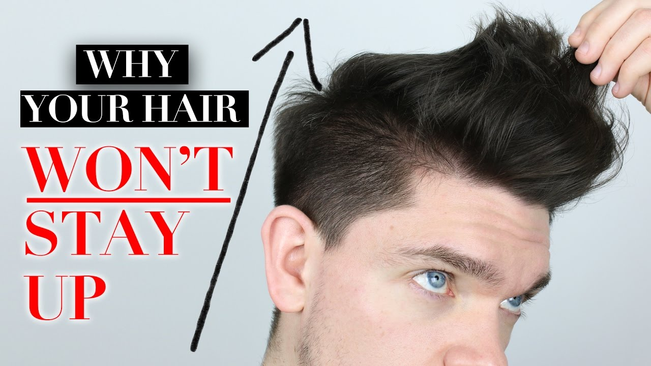 5 Reasons Why Your Hair Won T Stay Up Youtube