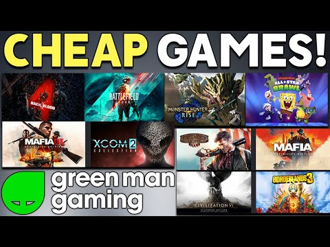 GREAT PC GAME DEALS RIGHT NOW - CHEAP PC GAMES ON GMG RIGHT NOW! thumbnail