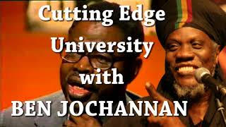 Mutabaruka Cutting Edge 24/08/2017 BEN JOCHANNAN