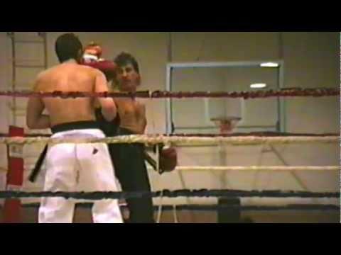 Full Contact Kickboxing Bad Man Contest 1992 Kenny Cooper vs Kevin Hudson