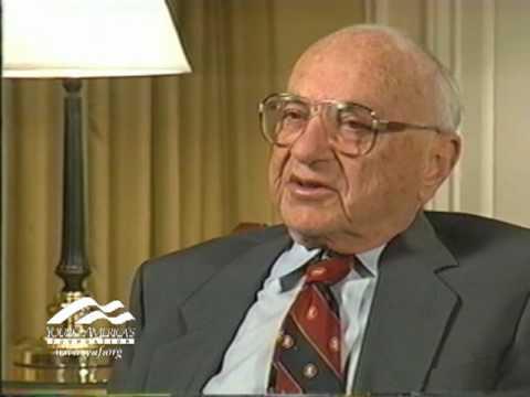 """Milton Friedman and his start in economics"""