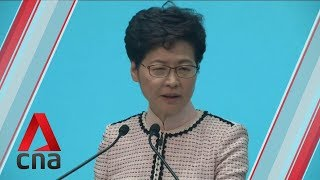 """Hong Kong government to """"double"""" efforts to engage members of public: Carrie Lam"""