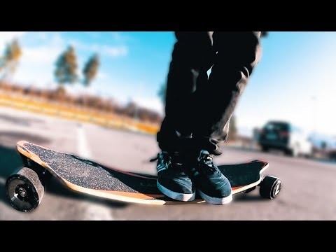 This ELECTRIC SKATEBOARD has it ALL