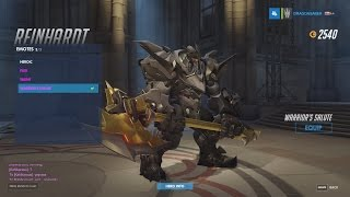 Overwatch: 300th ranked win and purchasing my Golden Axe!