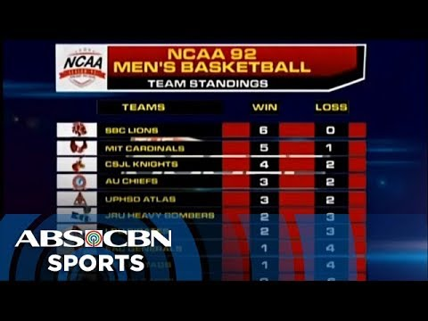 The Score: NCAA 92 Team Standings - YouTube