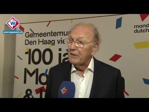 Joop van den Ende opent overzichtstentoonstelling Mondriaan