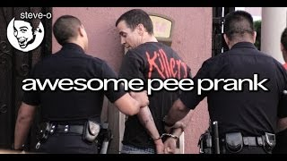 Awesome Pee Prank - Steve-O